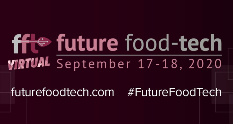 Proud sponsor of Future Food-Tech 2020