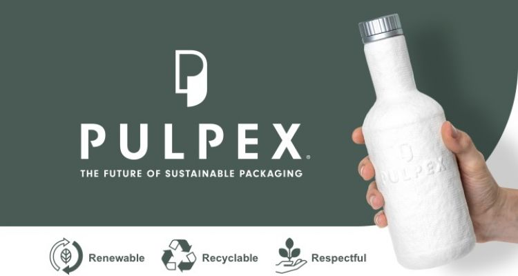 Biodegradable Pulp-Based Bottle