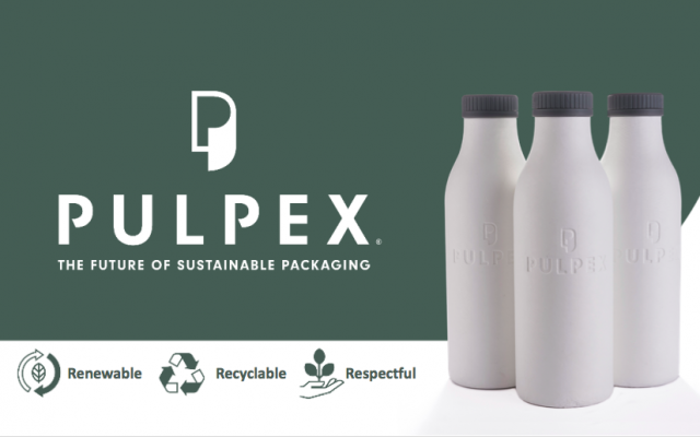 The world's first 100% PET-free paper bottle